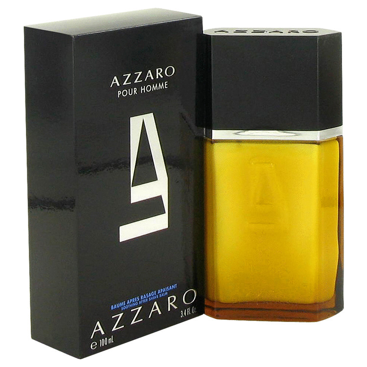 Azzaro After Shave Balm by Azzaro 3.3 oz After Shave Balm for Men