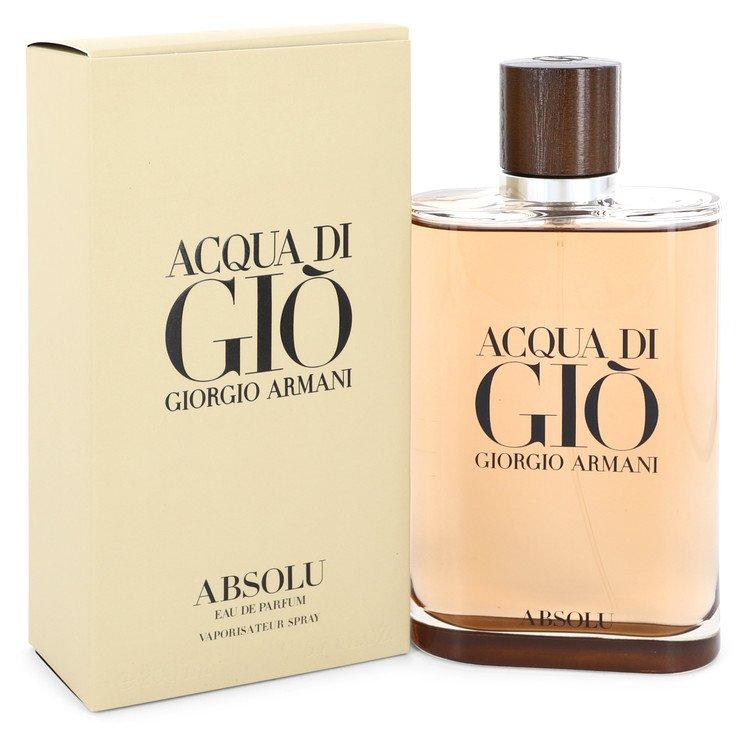 Acqua Di Gio Absolu by Giorgio Armani –  Eau De Parfum Spray 6.7 oz 200 ml for Men