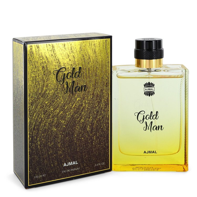 Ajmal Gold by Ajmal –  Eau De Parfum Spray 3.4 oz 100 ml for Men