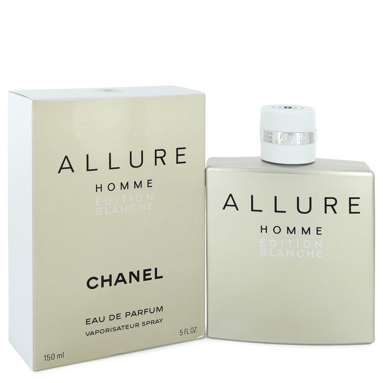 Allure Homme Blanche Cologne by Chanel 5.1 oz EDP Spay for Men Spray