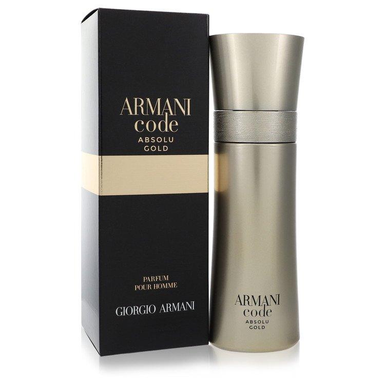 Armani Code Absolu Gold by Giorgio Armani –  Eau De Parfum Spray 2 oz 60 ml for Men