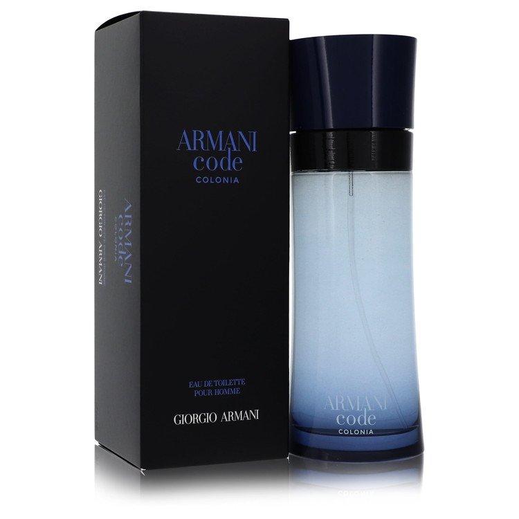 Armani Code Colonia by Giorgio Armani –  Eau De Toilette Spray 6.7 oz 200 ml for Men