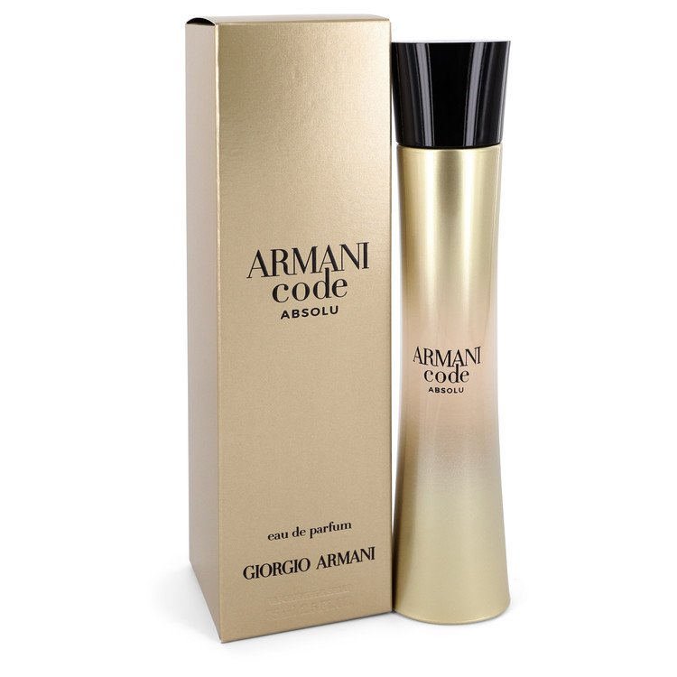 Armani Code Absolu by Giorgio Armani –  Eau De Parfum Spray 2.5 oz 75 ml for Women