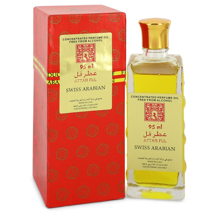 Attar Ful by Swiss Arabian –  Concentrated Perfume Oil Free From Alcohol (Unisex) 3.2 oz 95 ml