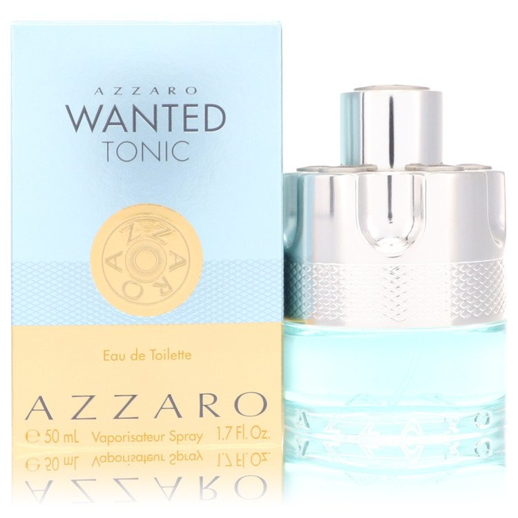Azzaro Wanted Tonic by Azzaro Men's Eau De Toilette Spray 1.7 oz