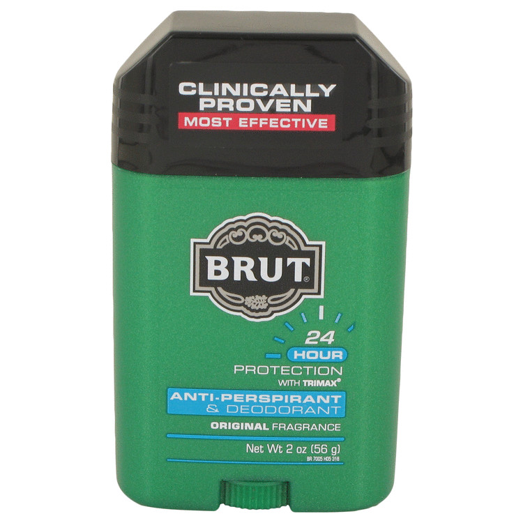 BRUT by Faberge for Men 24 hour Deodorant Stick / Anti-Perspirant 2 oz
