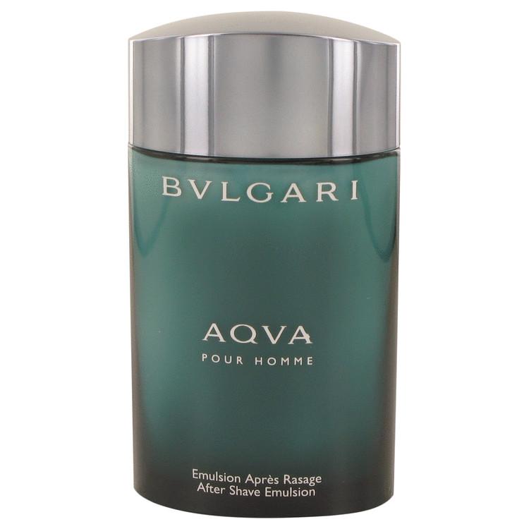 AQUA POUR HOMME by Bvlgari for Men After Shave Emulsion (Tester) 3.4 oz