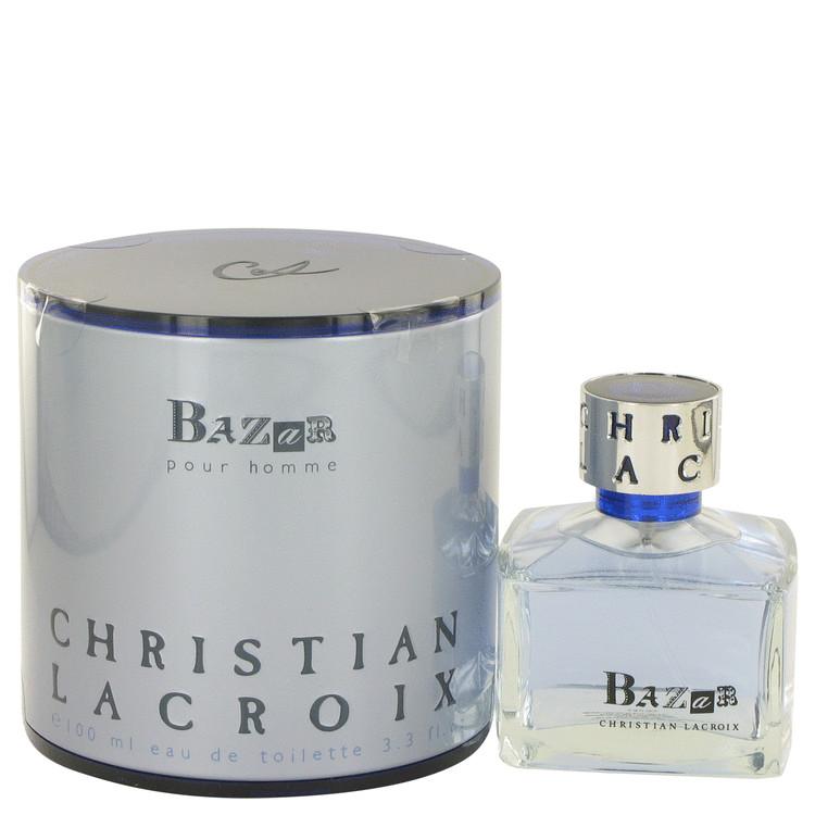 Bazar by Christian Lacroix for Men Eau De Toilette Spray 3.4 oz