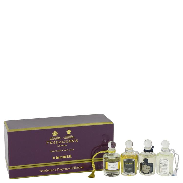 Blenheim Bouquet by Penhaligon's for Men Gift Set -- Deluxe Mini Gift Set Includes Blenheim Bouquet, Endymion, Quercus and Sarto