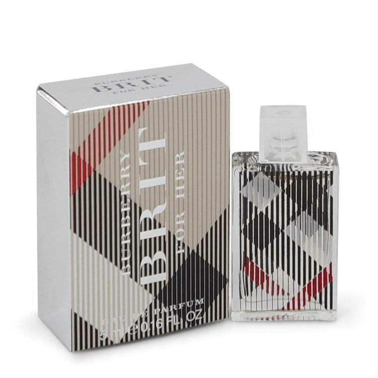 Burberry Brit by Burberry –  Mini EDP .16 oz 5 ml for Women