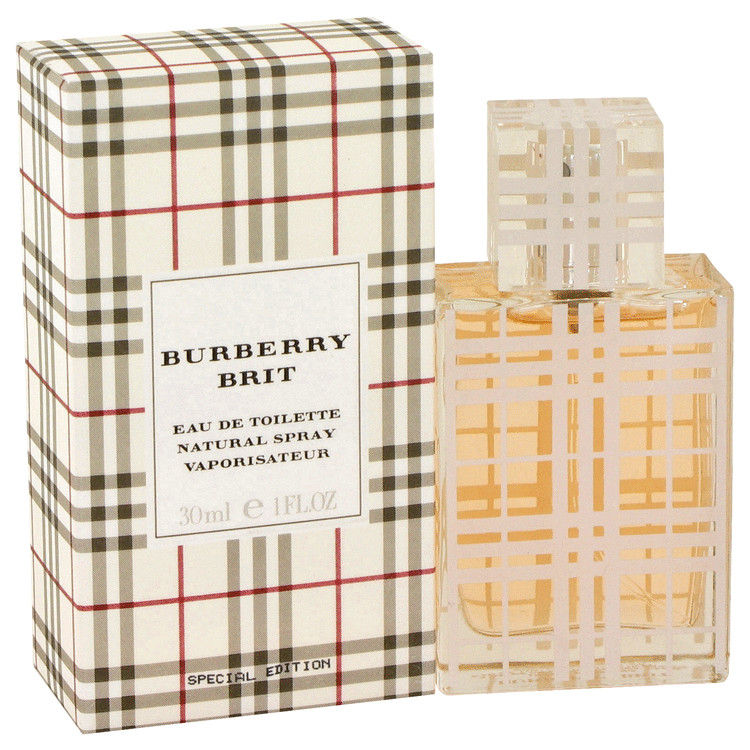Burberry Brit by Burberry for Women Eau De Toilette Spray 1 oz