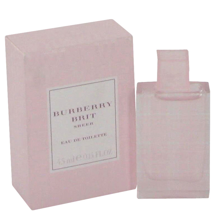 Burberry Brit Sheer Mini by Burberry .17 oz Mini EDT for Women