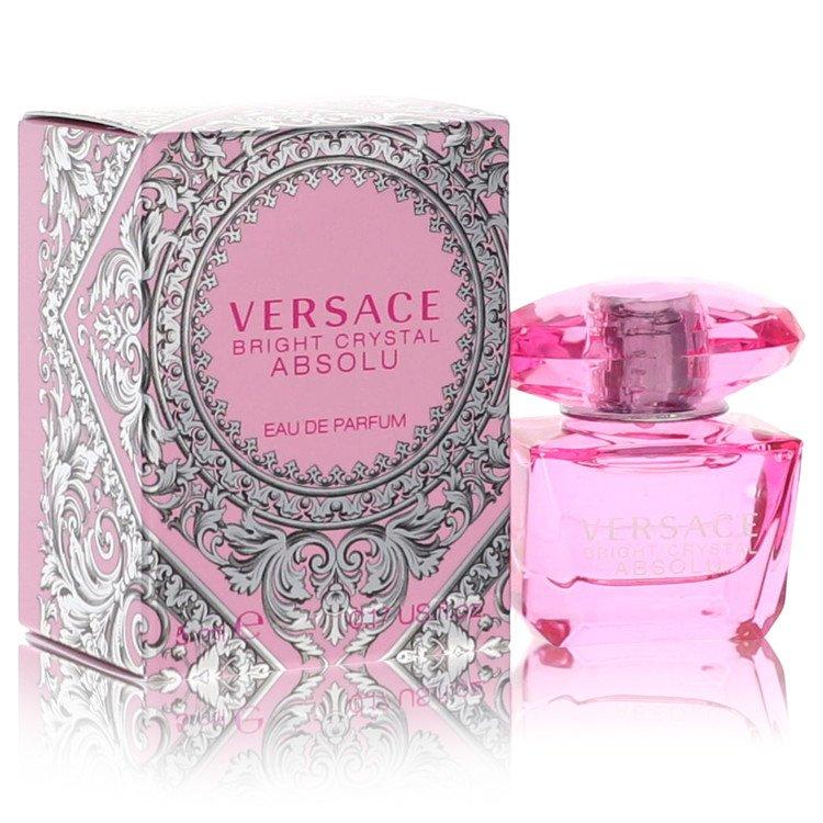 Bright Crystal Absolu by Versace –  Mini EDP .17 oz 5 ml for Women