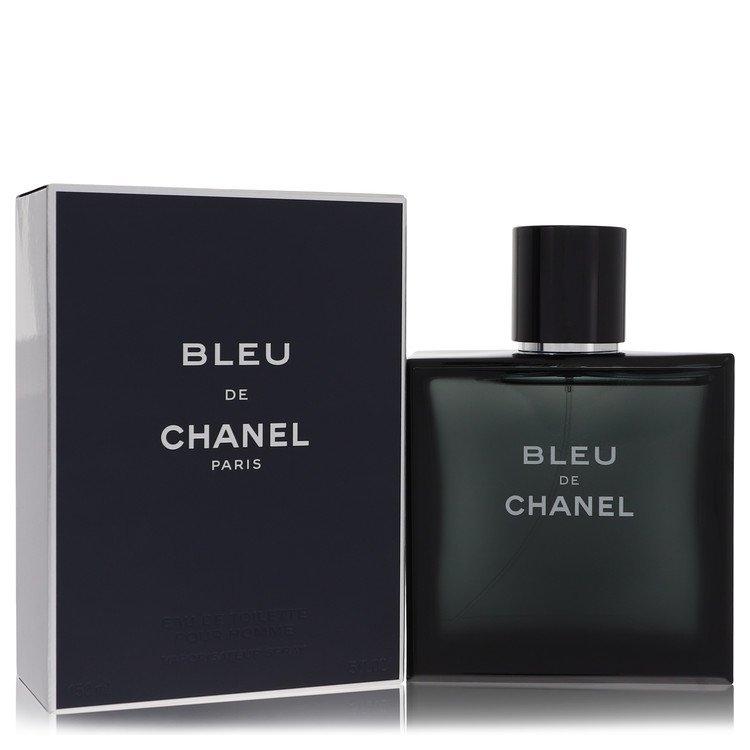 Bleu De Chanel by Chanel for Men Eau De Toilette Spray 5 oz