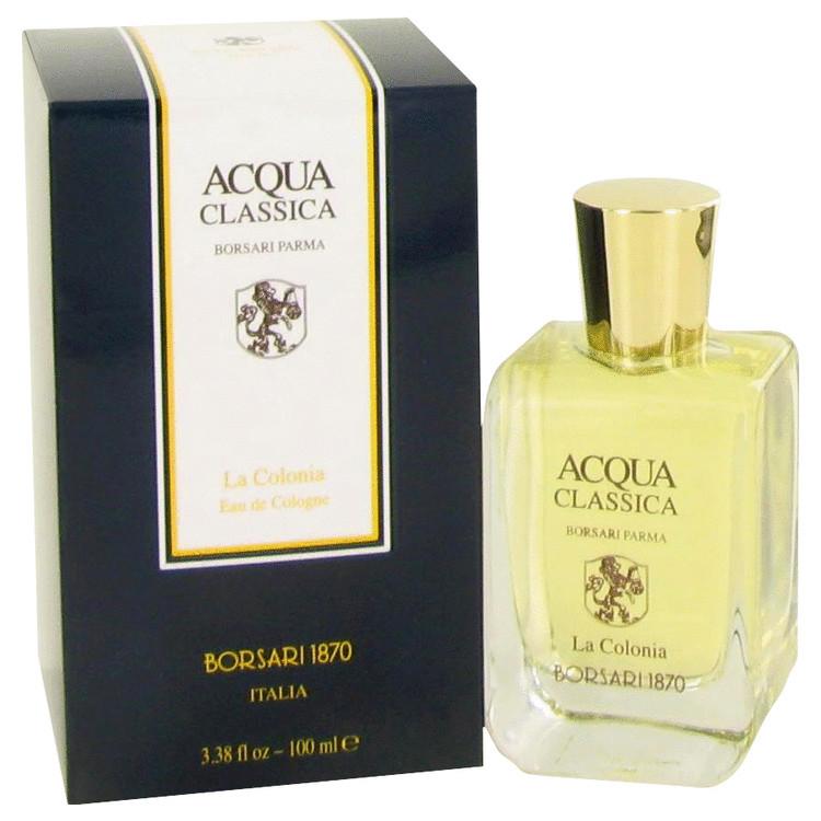 Acqua Classica Cologne by Borsari 3.4 oz EDC Spray for Men