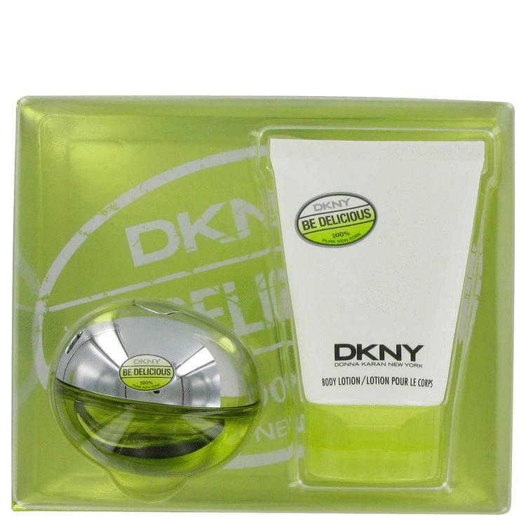 Be Delicious Gift Set -- Gift Set - 1.7 oz Eau De Parfum Spray + 3.4 oz Body Lotion for Women