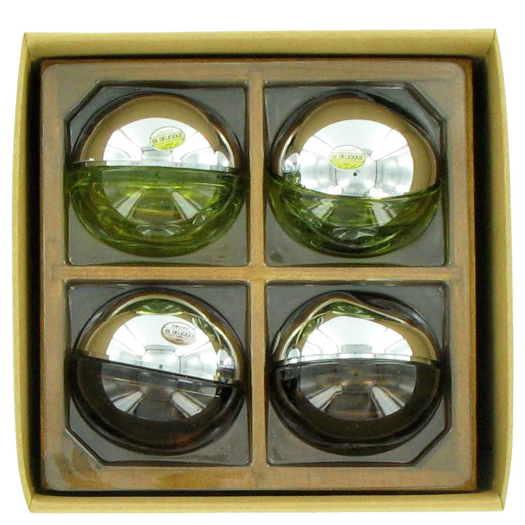 Be Delicious Gift Set -- Gift Set - Mini Set includes 2 x .25 oz Mini EDP for Women + 2 x .25 oz Mini EDT for Men for Men