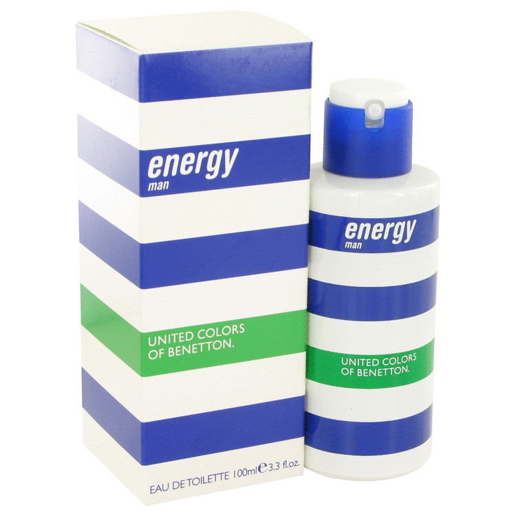 Benetton Energy Cologne by Benetton 3.4 oz EDT Spay for Men