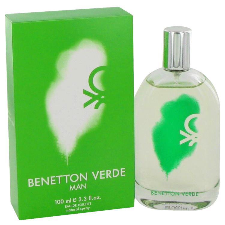 Benetton Verde Cologne by Benetton 100 ml EDT Spay for Men