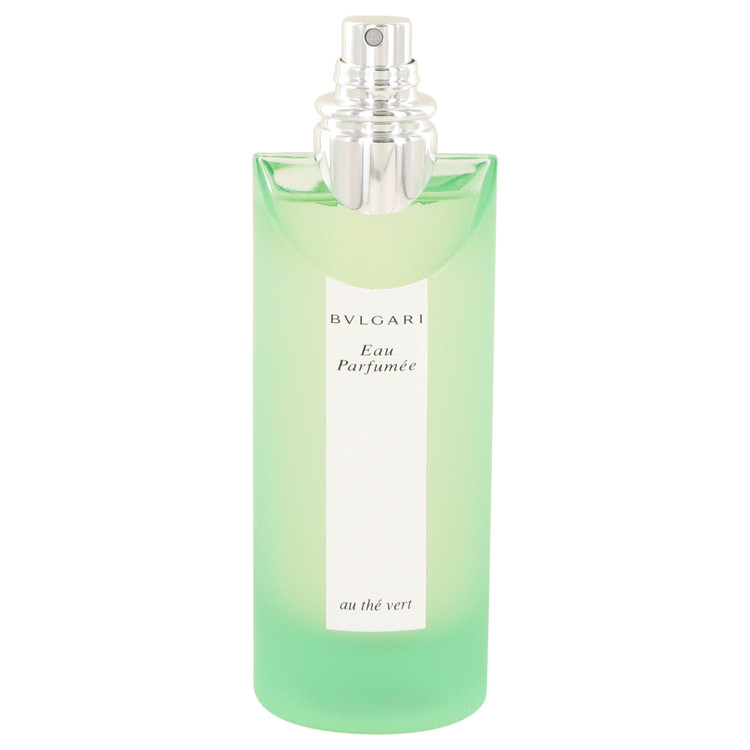 BVLGARI EAU PaRFUMEE (Green Tea) by Bvlgari for Men Cologne Spray (Unisex -Tester) 2.5 oz