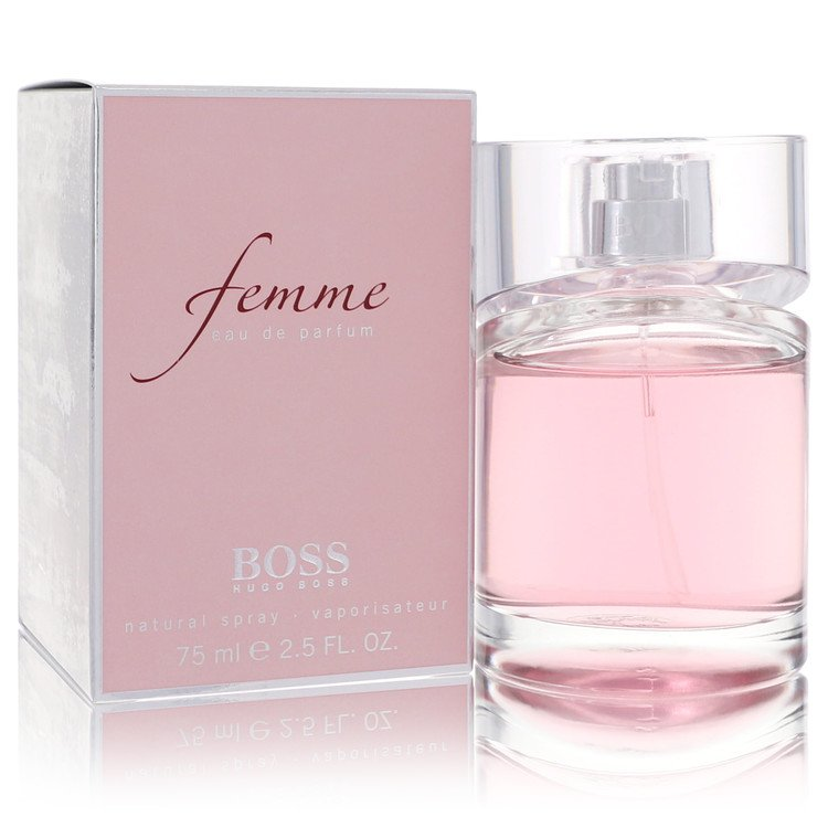 Boss Femme by Hugo Boss for Women Eau De Parfum Spray 2.5 oz