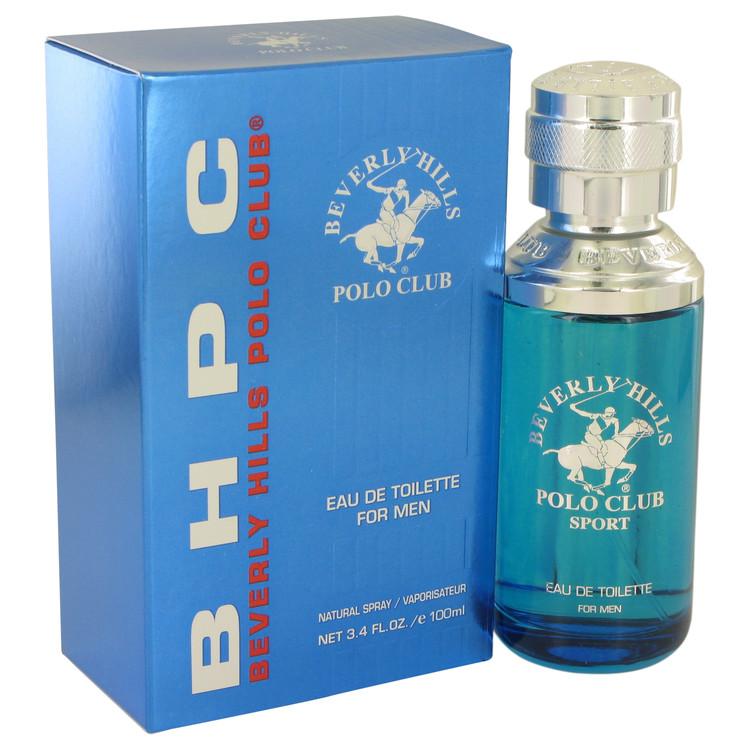 BEVERLY HILLS POLO CLUB Sport by Beverly Fragrances for Men Eau De Toilette Spray 3.4 oz