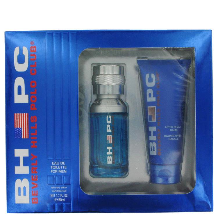 Beverly Hills Polo Club Sport Gift Set -- Gift Set - 1.7 oz Eau De Toilette Spray + 2.5 oz After Shave Balm for Men