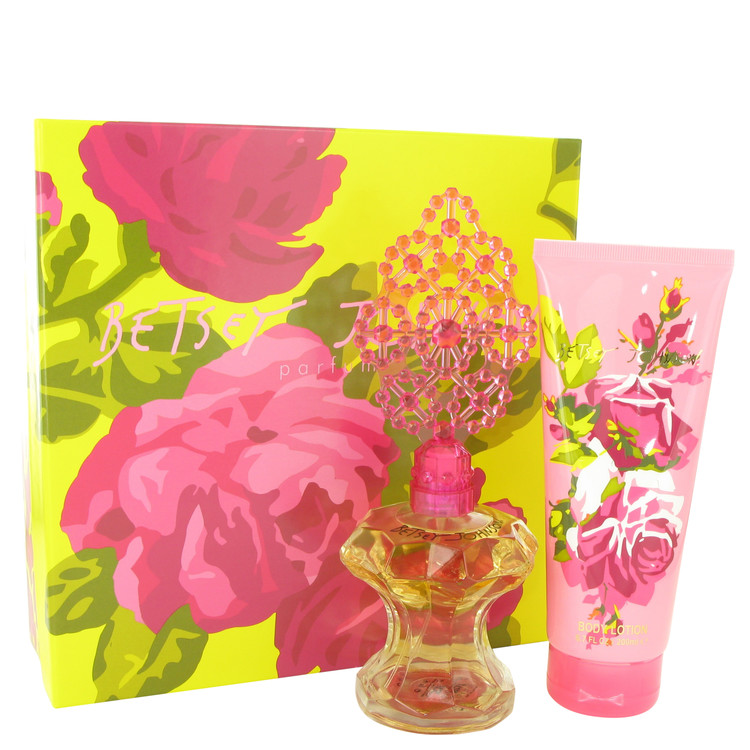 Betsey Johnson Gift Set -- Gift Set - 3.4 oz Eau De Parfum Spray + 6.7 oz Body Lotion for Women
