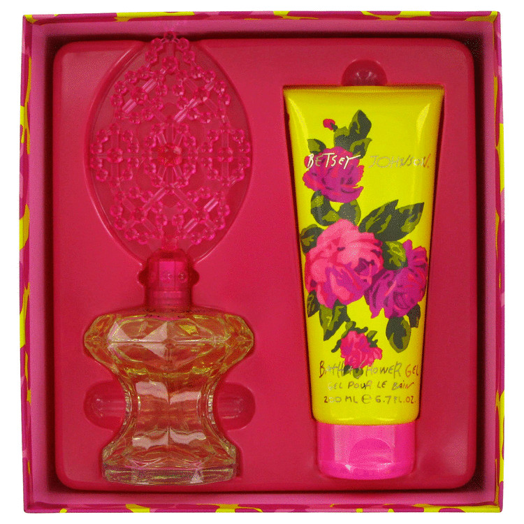 Betsey Johnson for Women, Gift Set (3.4 oz EDP Spray + 6.7 oz Shower Gel)