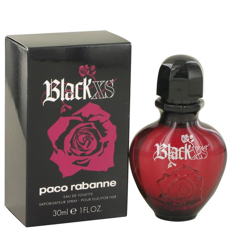 Black Xs Perfume by Paco Rabanne 30 ml Eau De Toilette Spray for Women