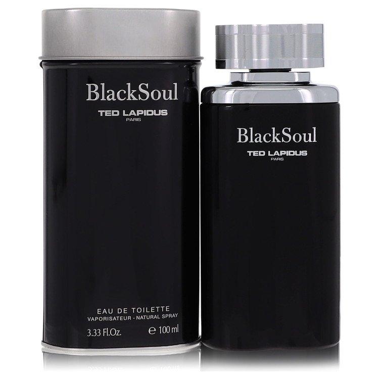 Black Soul Cologne by Ted Lapidus 100 ml Eau De Toilette Spray for Men