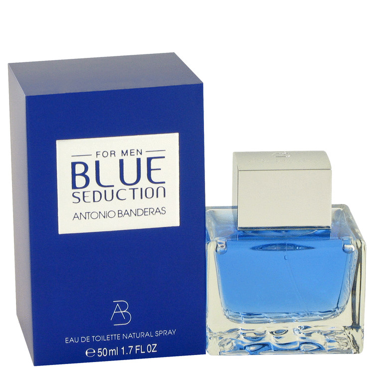 Blue Seduction Cologne by Antonio Banderas 50 ml EDT Spay for Men