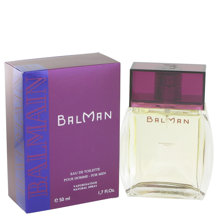 Balman Cologne by Pierre Balmain 50 ml Eau De Toilette Spray for Men