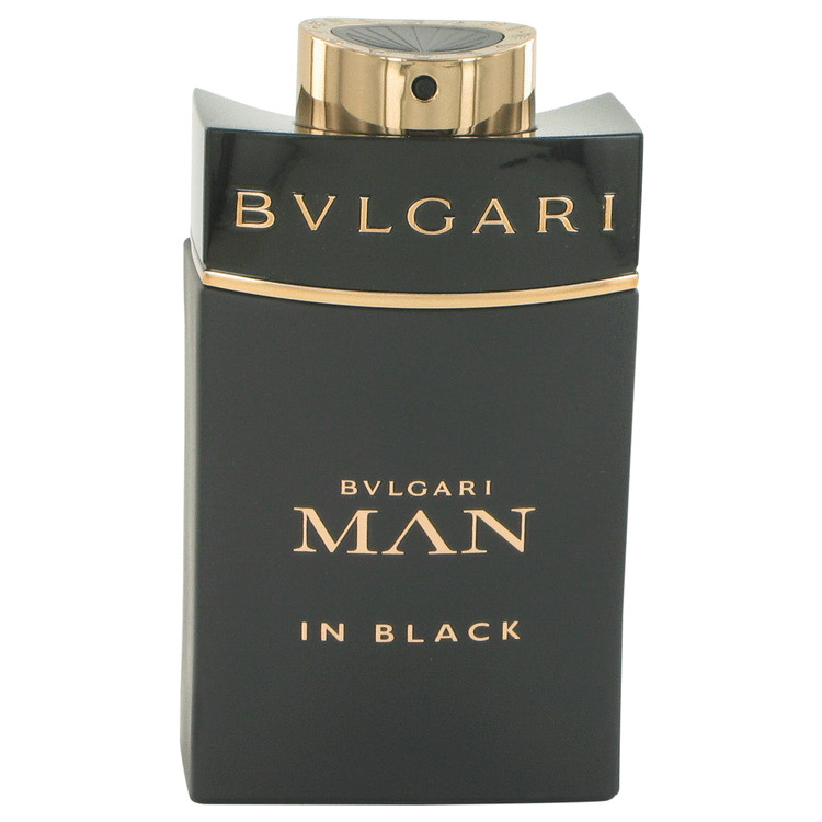 Bvlgari Man In Black by Bvlgari for Men Eau De Parfum Spray (Tester) 3.4 oz