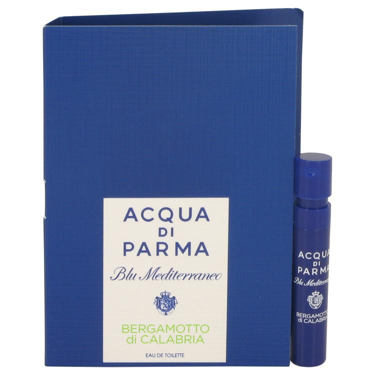 Blu Mediterraneo Bergamotto Di Calabria by Acqua Di Parma for Women Vial (sample) .04 oz