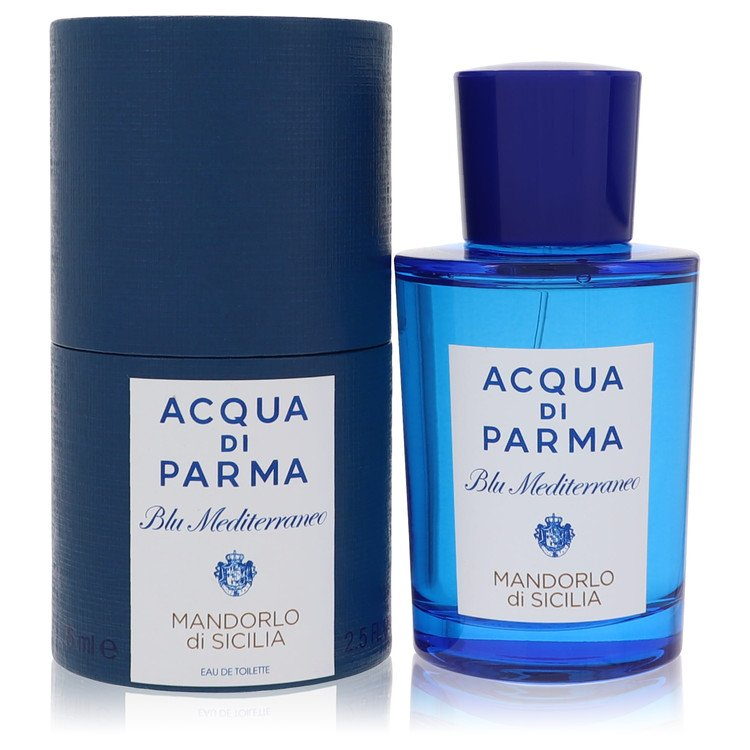 Blu Mediterraneo Mandorlo Di Sicilia by Acqua Di Parma for Women Eau De Toilette Spray 2.5 oz