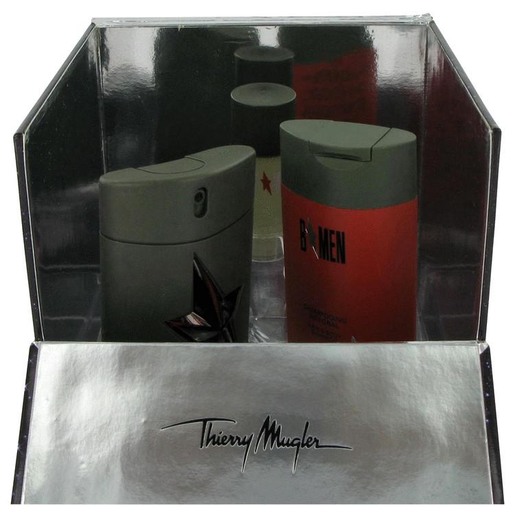 B Men Gift Set -- Gift Set - 1.7 oz Eau De Toilette Spray + 3.5 oz Hair & Body Shampoo + .7 oz Deodorant Stick for Men
