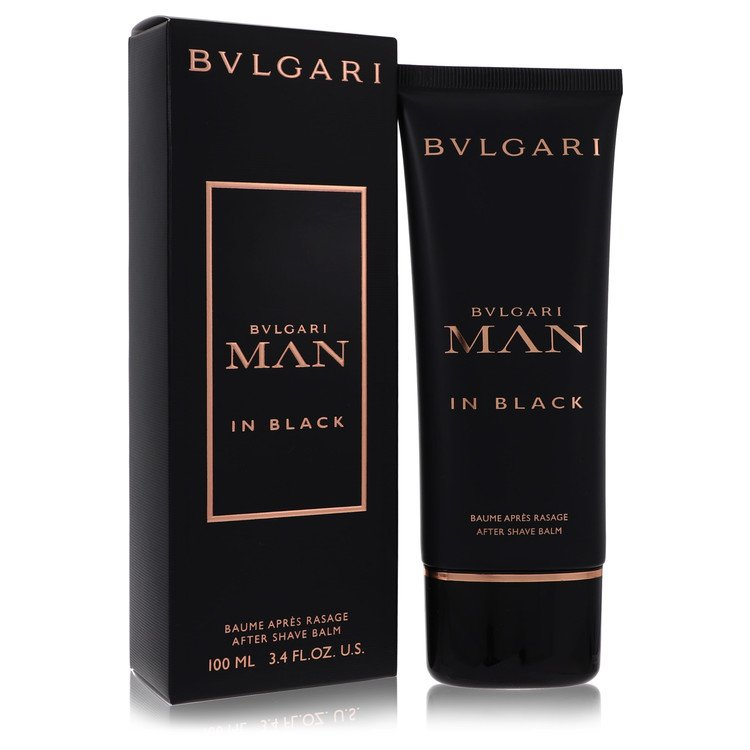 Bvlgari Man In Black by Bvlgari for Men After Shave Balm 3.4 oz