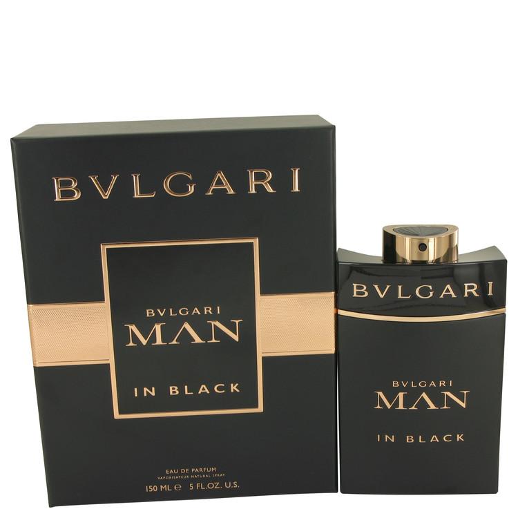 Bvlgari Man In Black by Bvlgari for Men Eau De Parfum Spray 5 oz