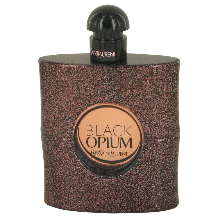 Black Opium by Yves Saint Laurent Eau De Toilette Spray (Tester) 3 oz