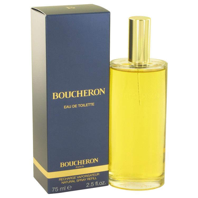 Boucheron Perfume 75 ml Eau De Toilette Spray Refill for Women