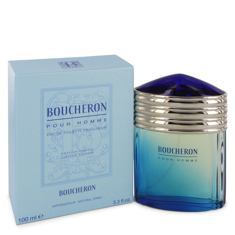 BOUCHERON by Boucheron for Men Eau De Toilette Fraicheur Spray (Limited Edition) 3.4 oz
