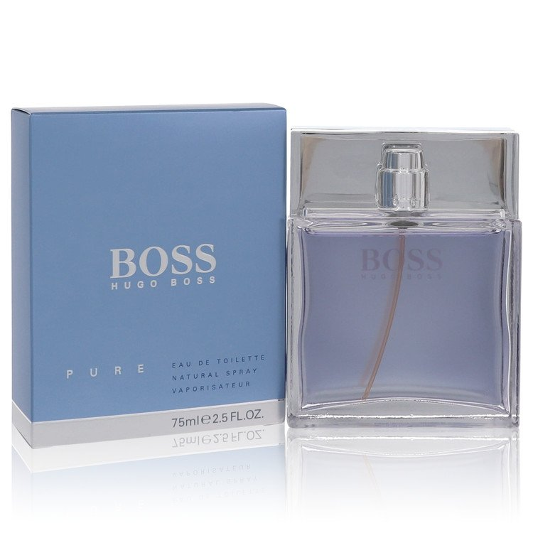 Boss Pure by Hugo Boss for Men Eau De Toilette Spray 2.5 oz