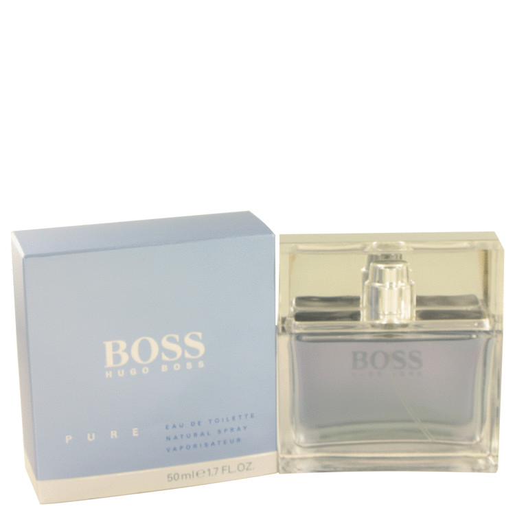 Boss Pure by Hugo Boss for Men Eau De Toilette Spray 1.7 oz