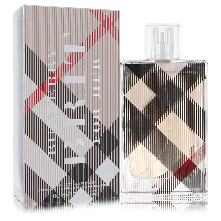 Burberry Brit by Burberry for Women Eau De Parfum Spray 3.4 oz