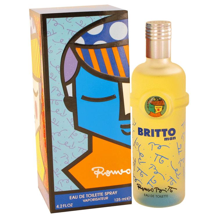 Britto Cologne by Romero Britto 4.2 oz EDT Spray for Men