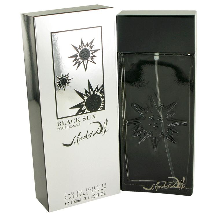 Black Sun Cologne by Salvador Dali 100 ml EDT Spay for Men