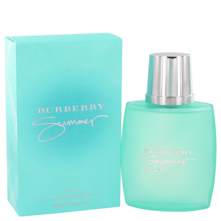 Burberry Summer by Burberry for Men Eau De Toilette Spray (2013) 3.4 oz