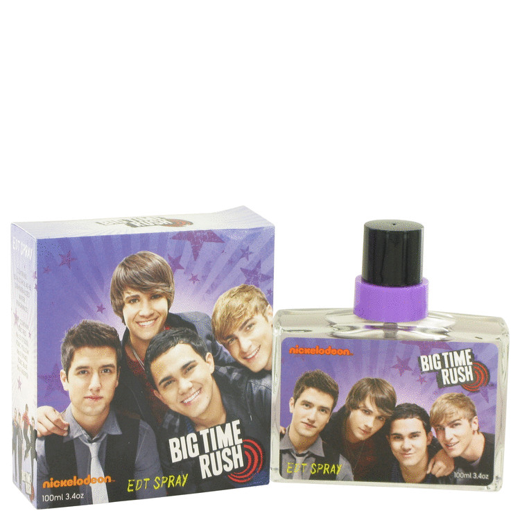Big Time Rush by Nickelodeon for Men Eau De Toilette Spray 3.4 oz
