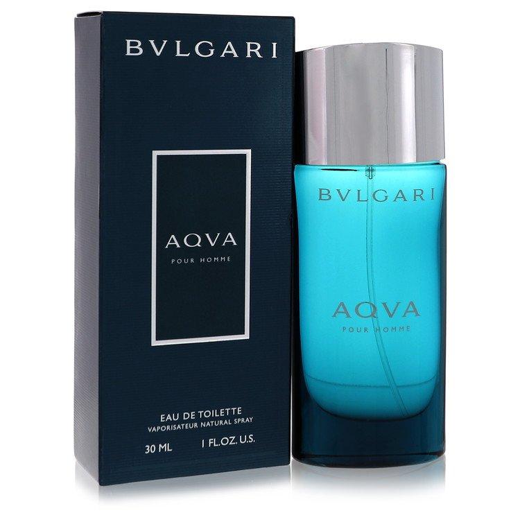AQUA POUR HOMME by Bvlgari for Men Eau De Toilette Spray 1 oz